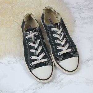 Converse Black Low Top Sneakers 3